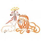 Fotografie Jesus sacrifice and conqueror, the savior of the world