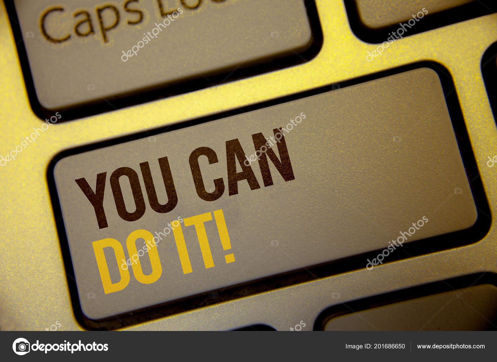 Texto Letra Você Pode Fazer Ele Motivacional Chamar Conceito