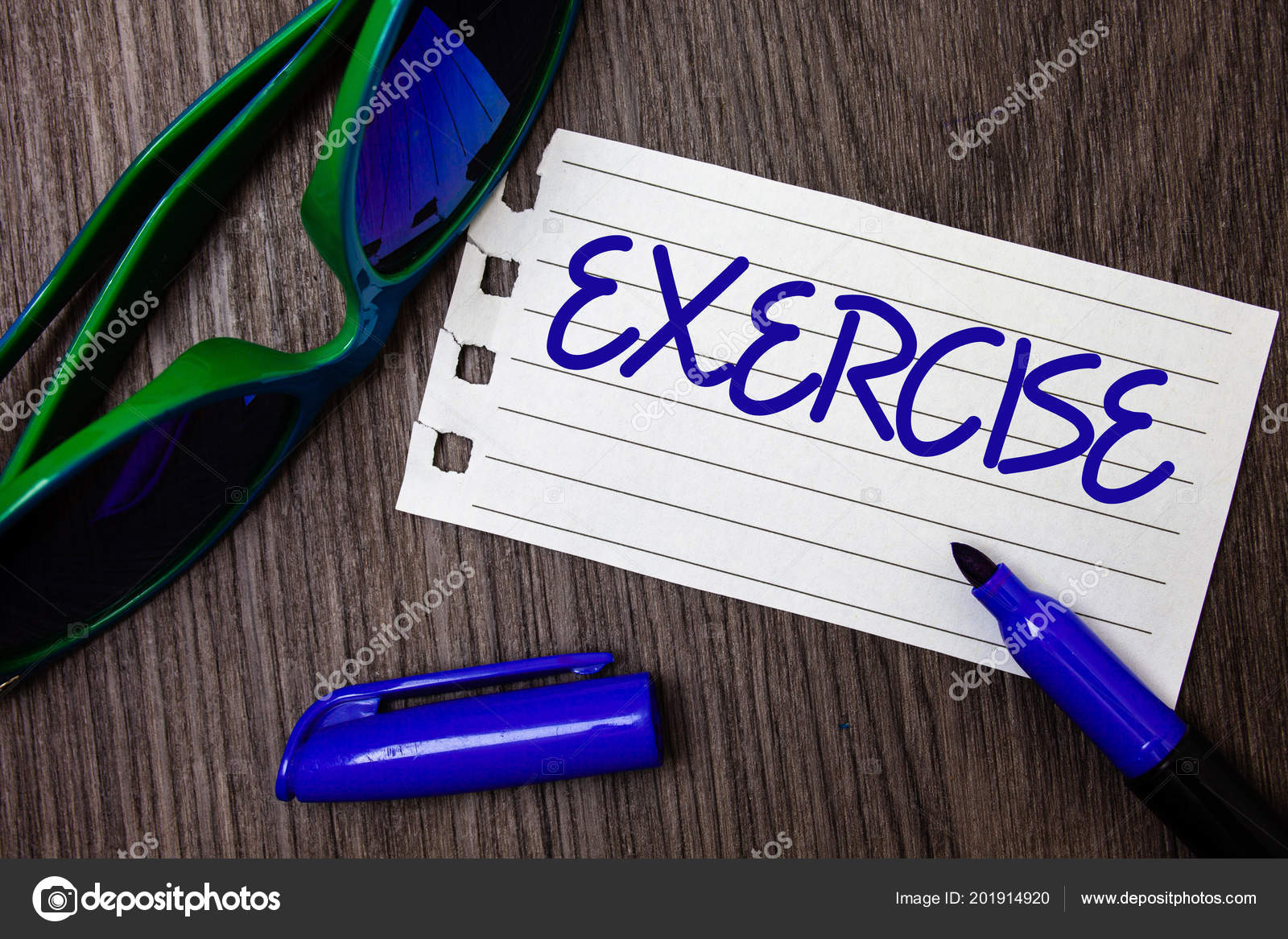 Word Writing Text Exercise Business Concept Activity