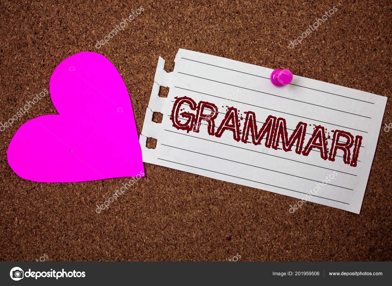 Texto Caligrafia Chamar Motivacional Gramática Conceito
