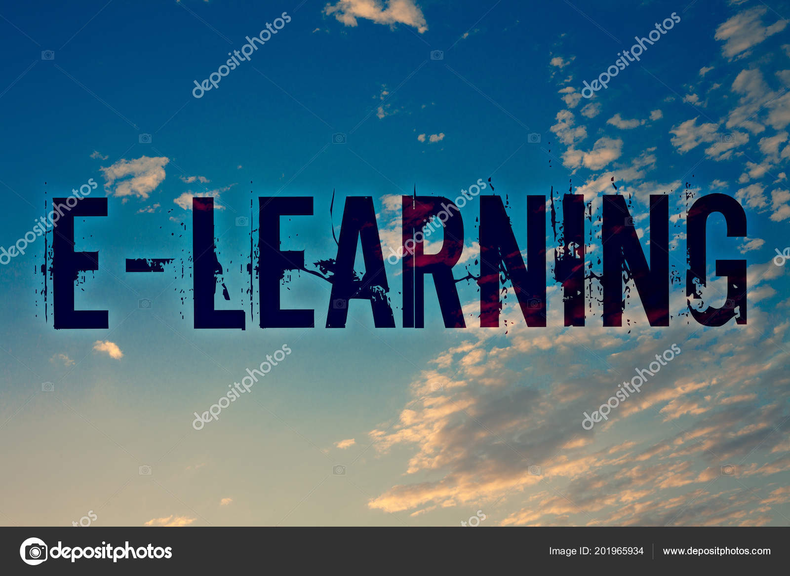 Sinal Texto Mostrando Learning Foto Conceitual Educação