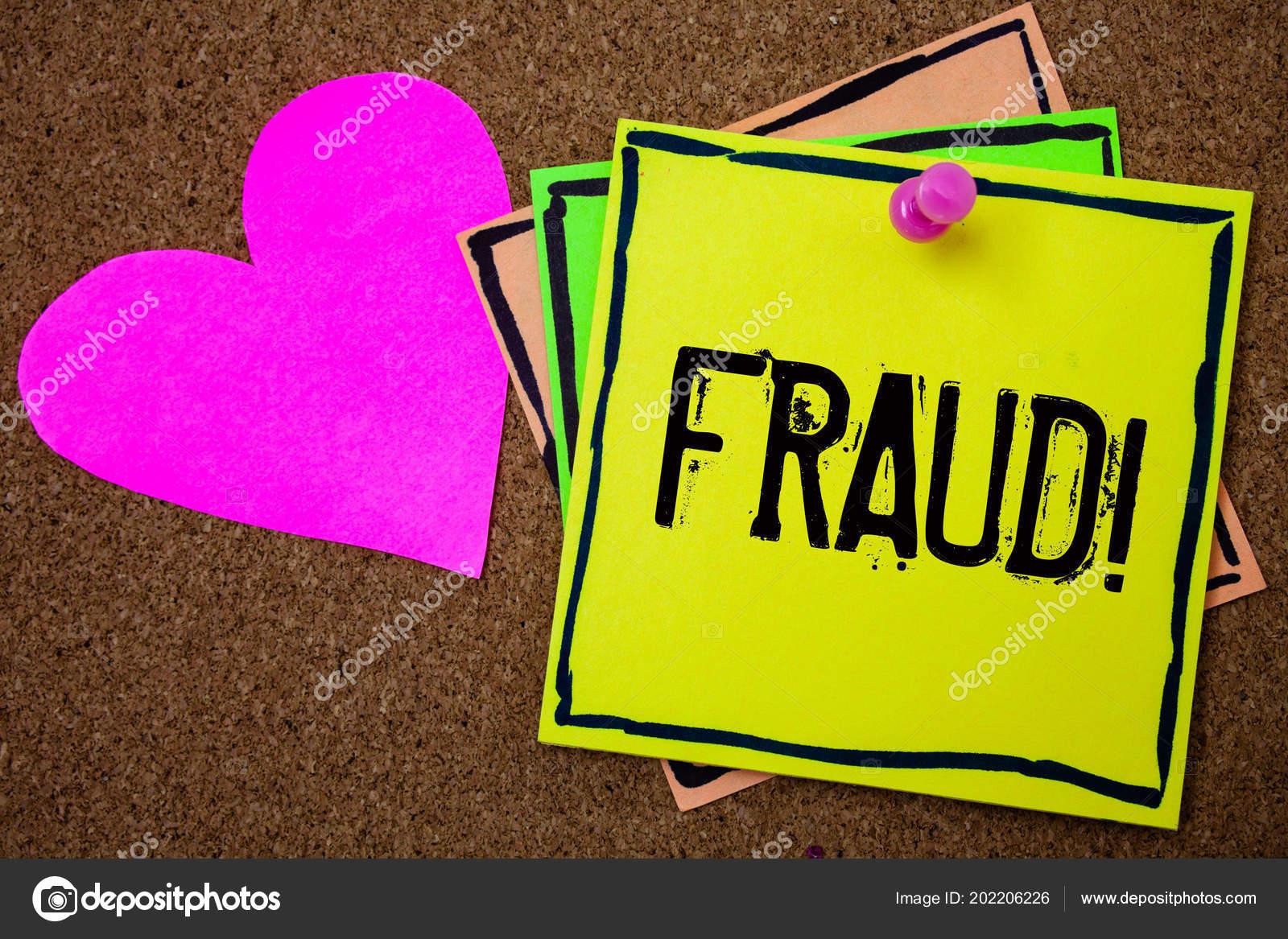 Palavra Escrever Texto Chamar Motivacional Fraude Conceito