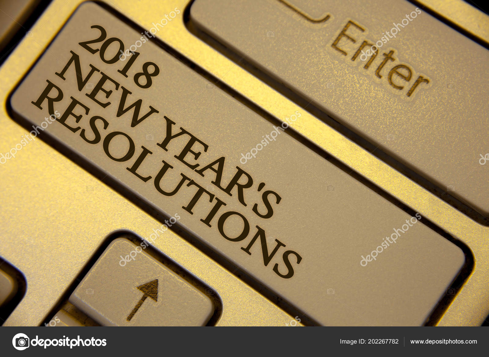conceptual hand writing showing 2018 new year resolutions business photo stock photo