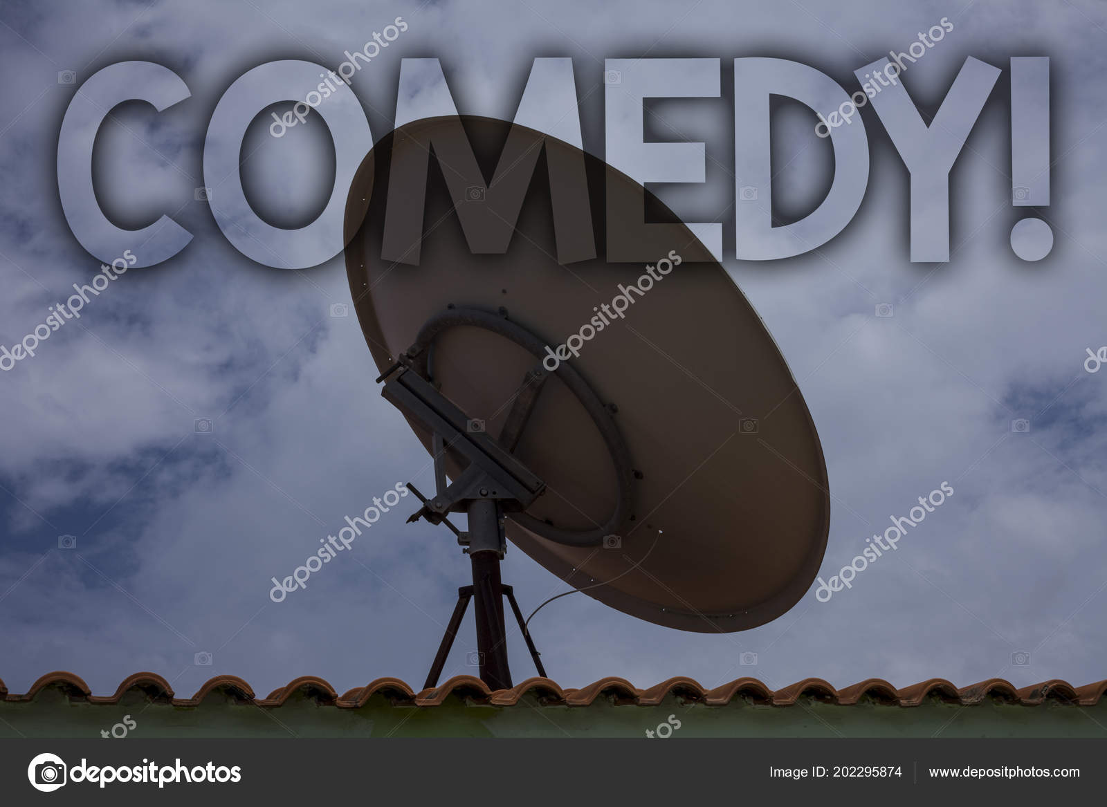 Conceptual Hand Writing Showing Comedy Call Business Photo Text