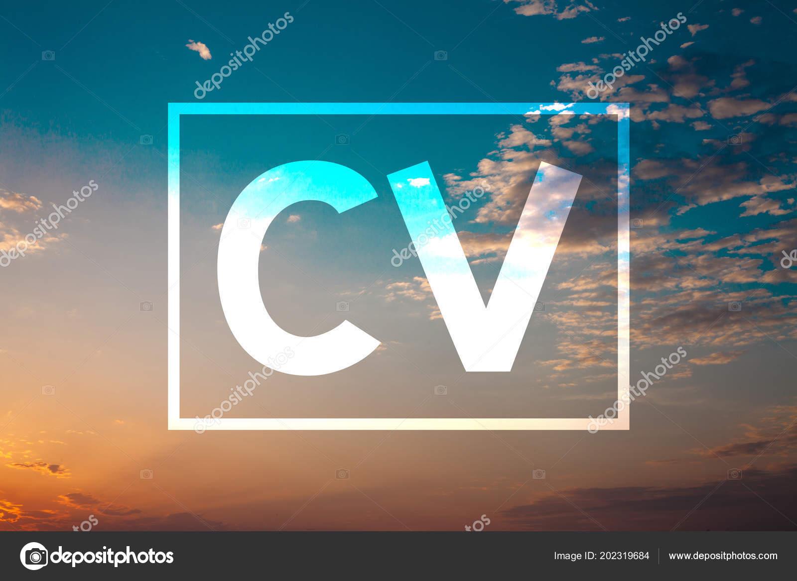 texto escritura concepto que significa curriculum vitae curriculum vitae infografa foto de stock