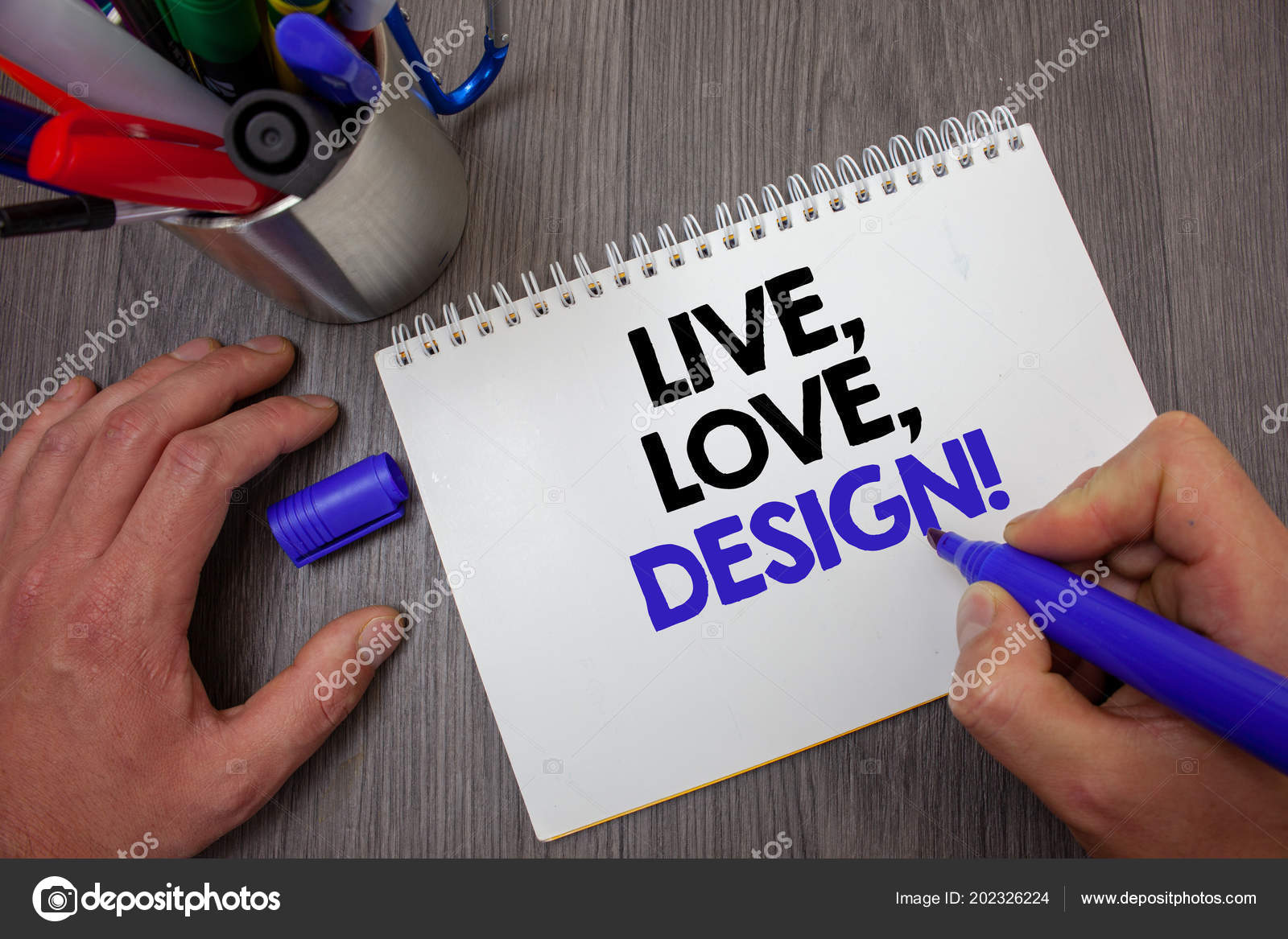 Sinal Texto Mostrando Live Amor Design Chama Motivacional