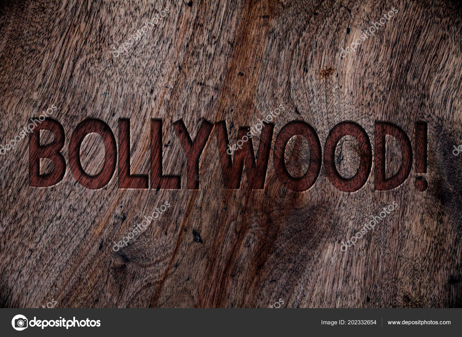 Bilhete Mostrando Chamar Motivacional Bollywood Foto