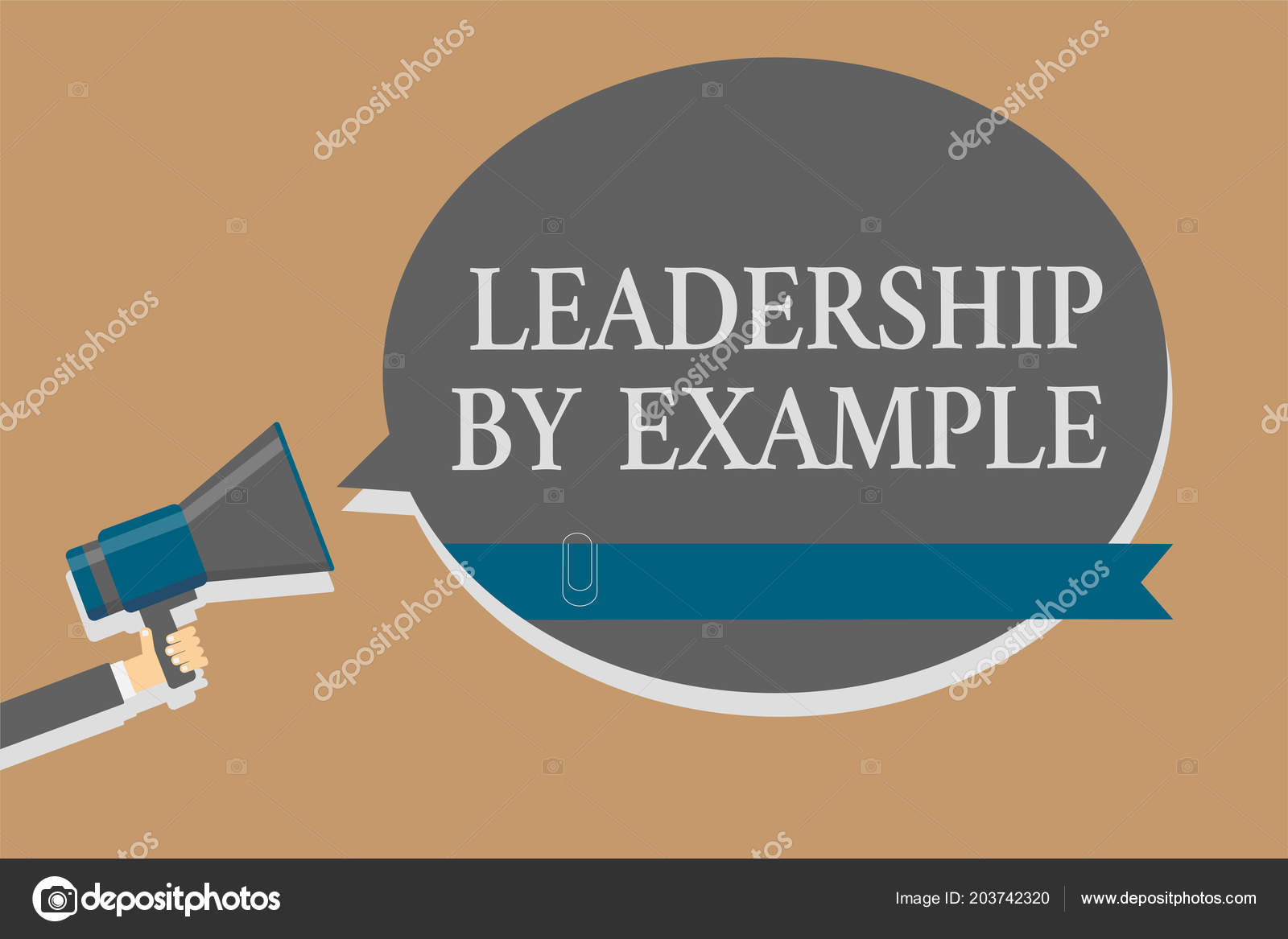 handwriting text leadership example concept meaning becoming role