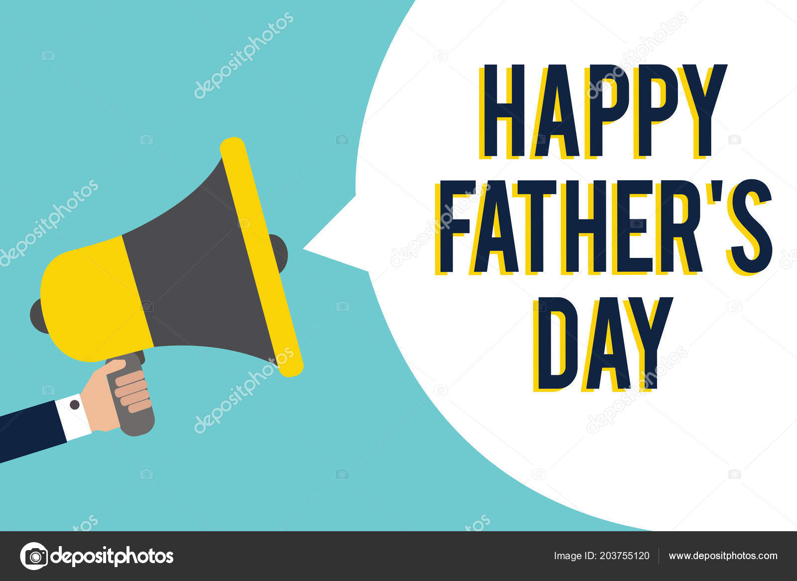 word writing text happy father day business concept time year