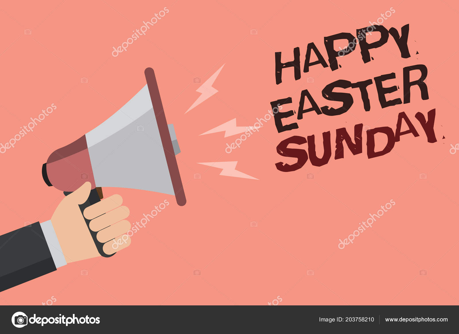 Word writing text happy easter sunday business concept greeting word writing text happy easter sunday business concept greeting someone stock photo m4hsunfo