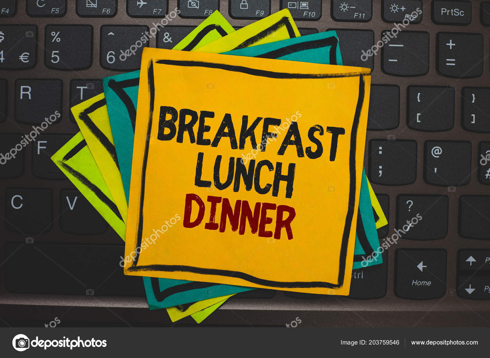lunch dinner word