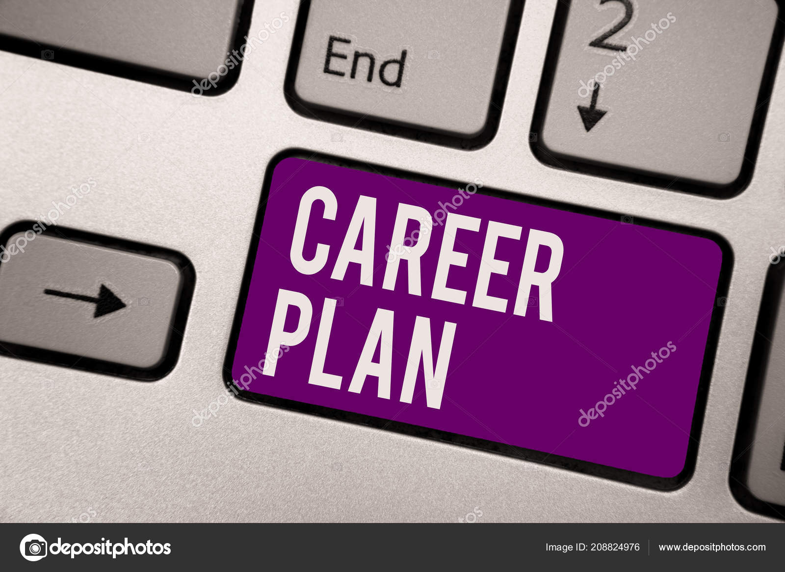 conceptual hand writing showing career plan business photo