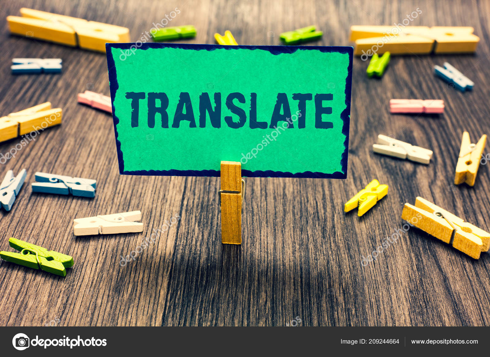 Word Writing Text Translate Business Concept Another Word Same