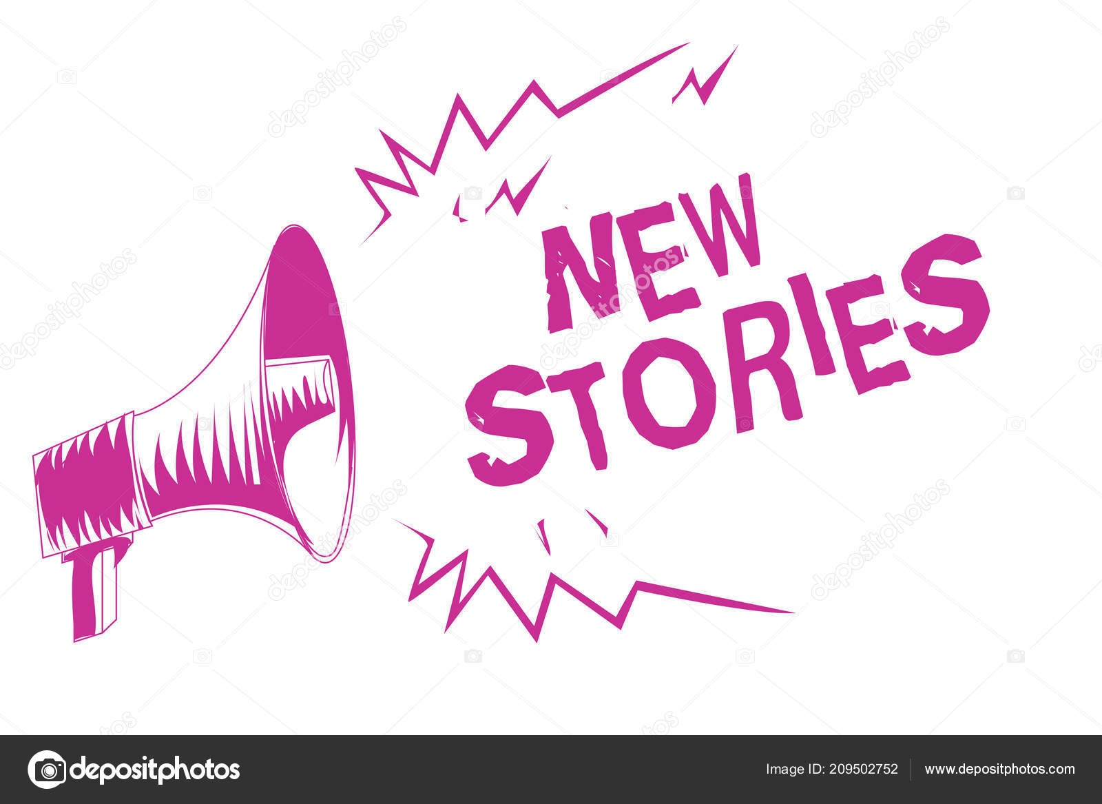Das Wort Text Neue Geschichten Schreiben Geschäftskonzept
