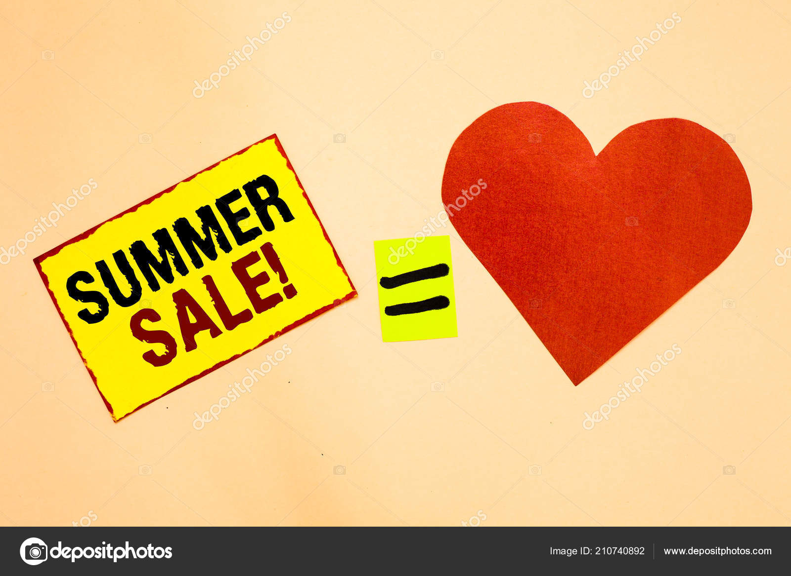 Handwriting Text Writing Summer Sale Concept Meaning Annual