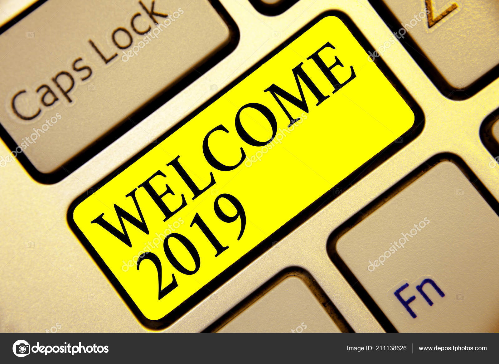 Text sign showing Welcome 2019  Conceptual photo New Year