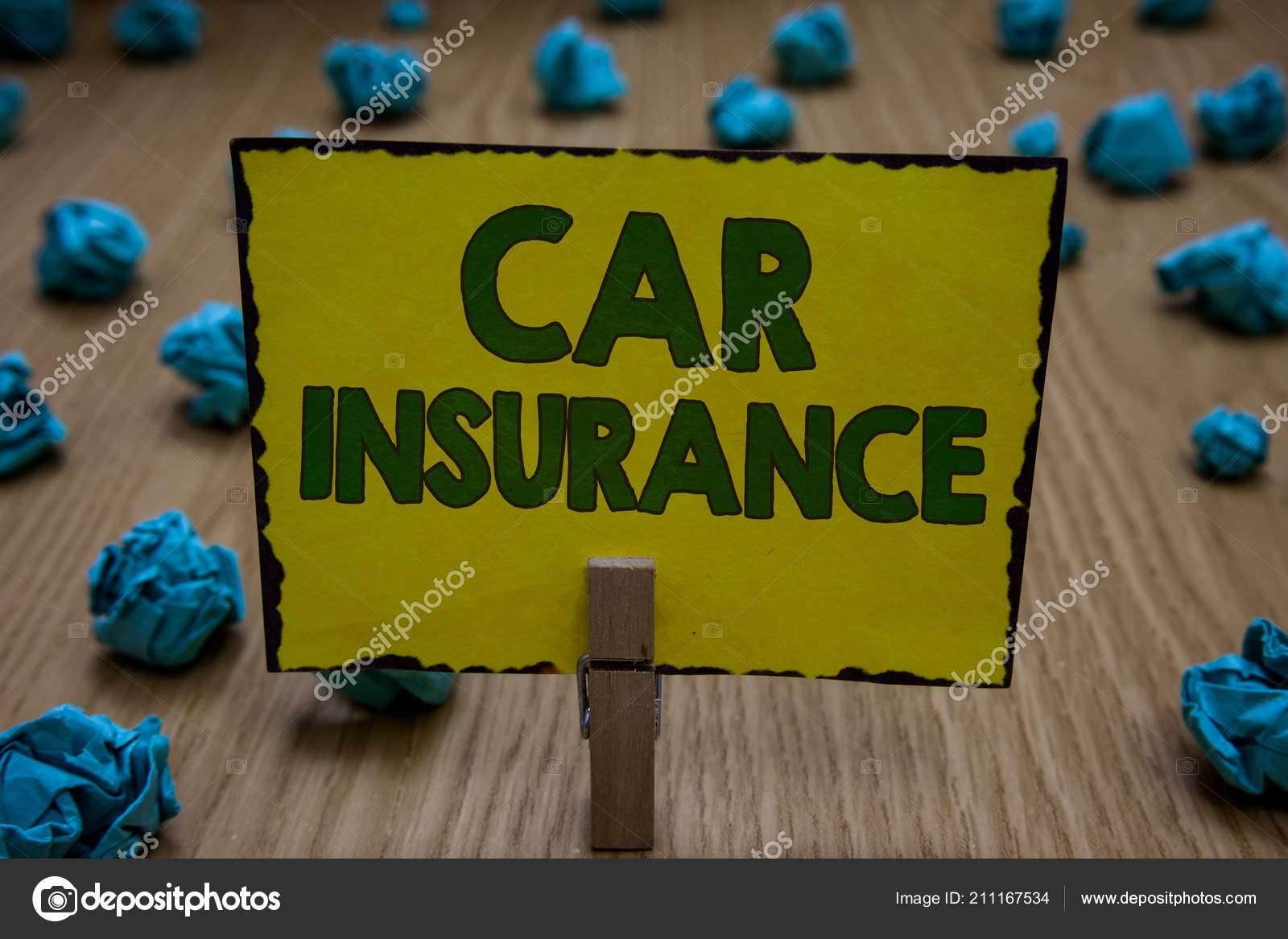 Text Sign Showing Car Insurance Conceptual Photo Accidents Coverage