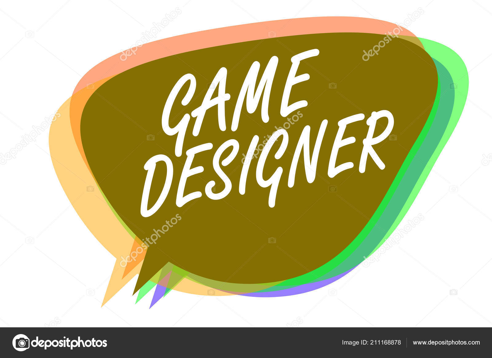 Word writing text Game Designer  Business concept for Campaigner