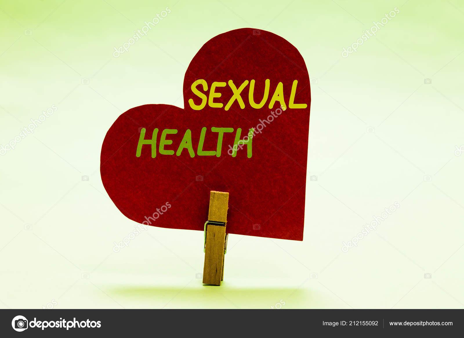 Сексуальное здоровье сообщение