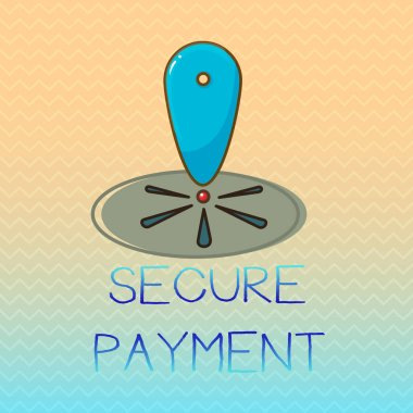 Conceptual hand writing showing Secure Payment. Business photo showcasing Security of Payment refers to ensure of paid even in dispute