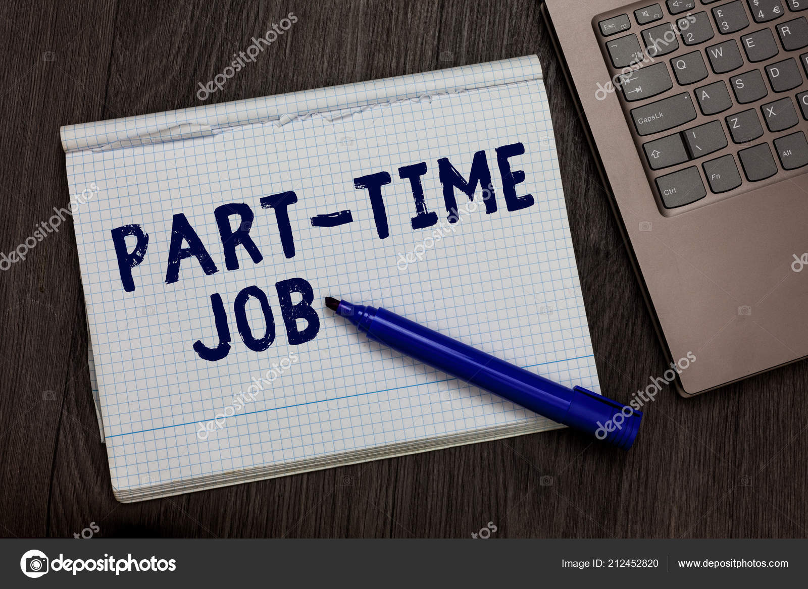 Conceptual hand writing showing Part Time Job  Business