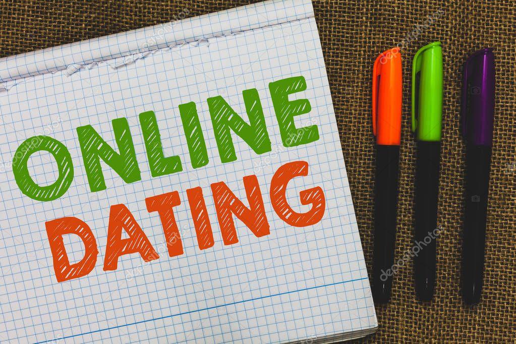 scrivendo messaggi online dating