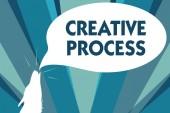 Fotografia Concettuale della mano che mostra il processo creativo di scrittura. Foto di affari vetrina atto di fare nuove connessioni tra vecchie idee Unique