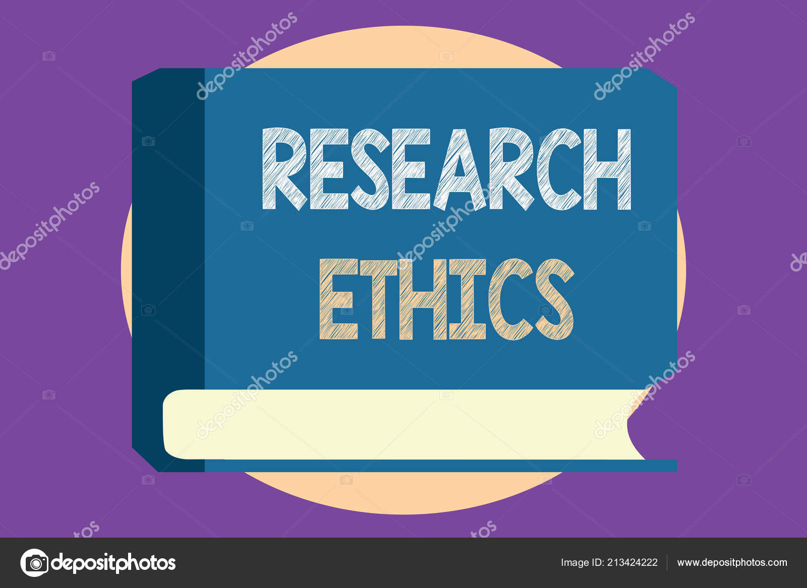 Conceptual hand writing showing Research Ethics  Business