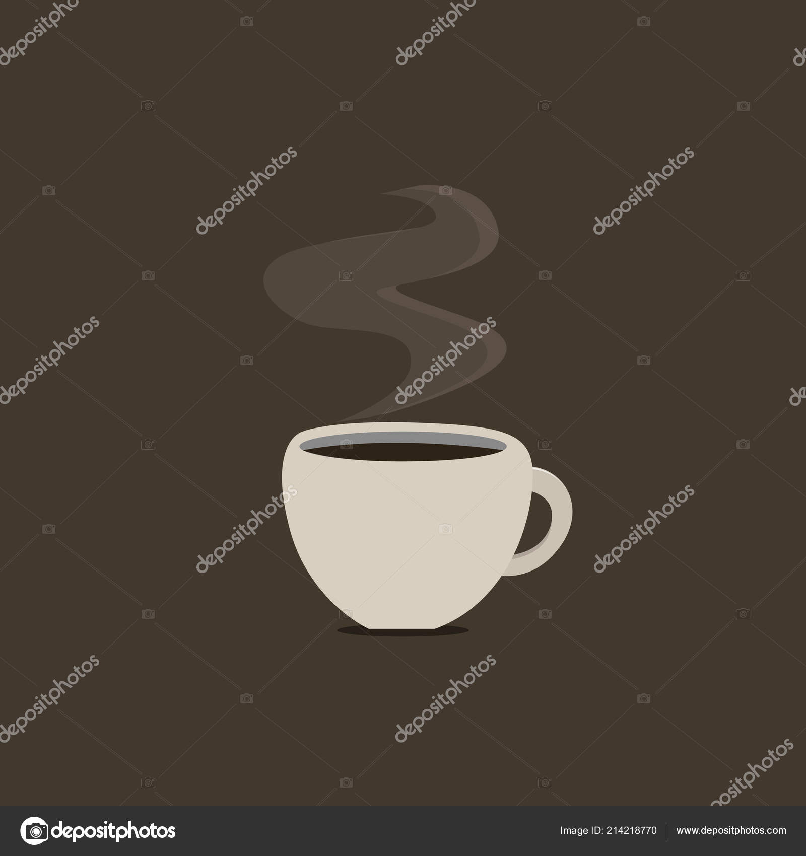 Flat design business Vector Illustration concept Empty template copy