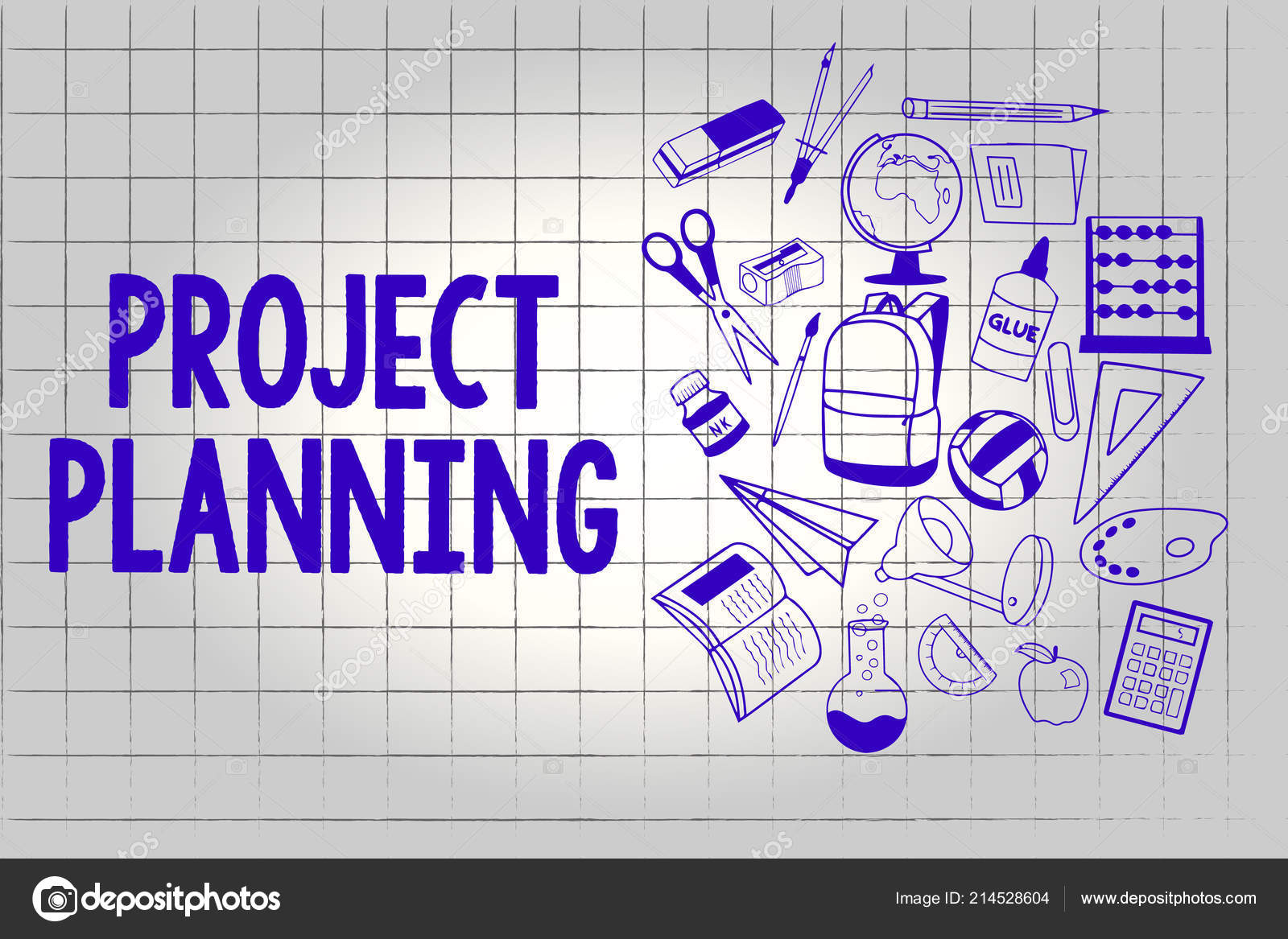 Handwriting Text Project Planning Concept Meaning Schedules Such As Gantt Charts To Plan Report Progress Stock Photo C Artursz 214528604