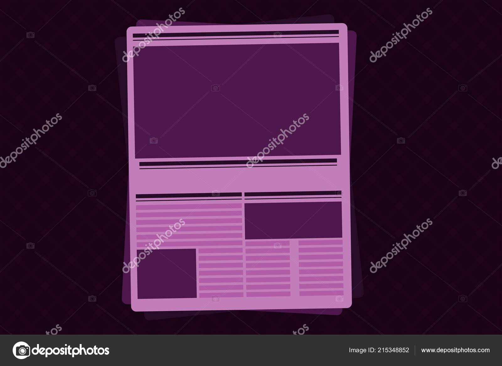 Schlagzeilen der Website