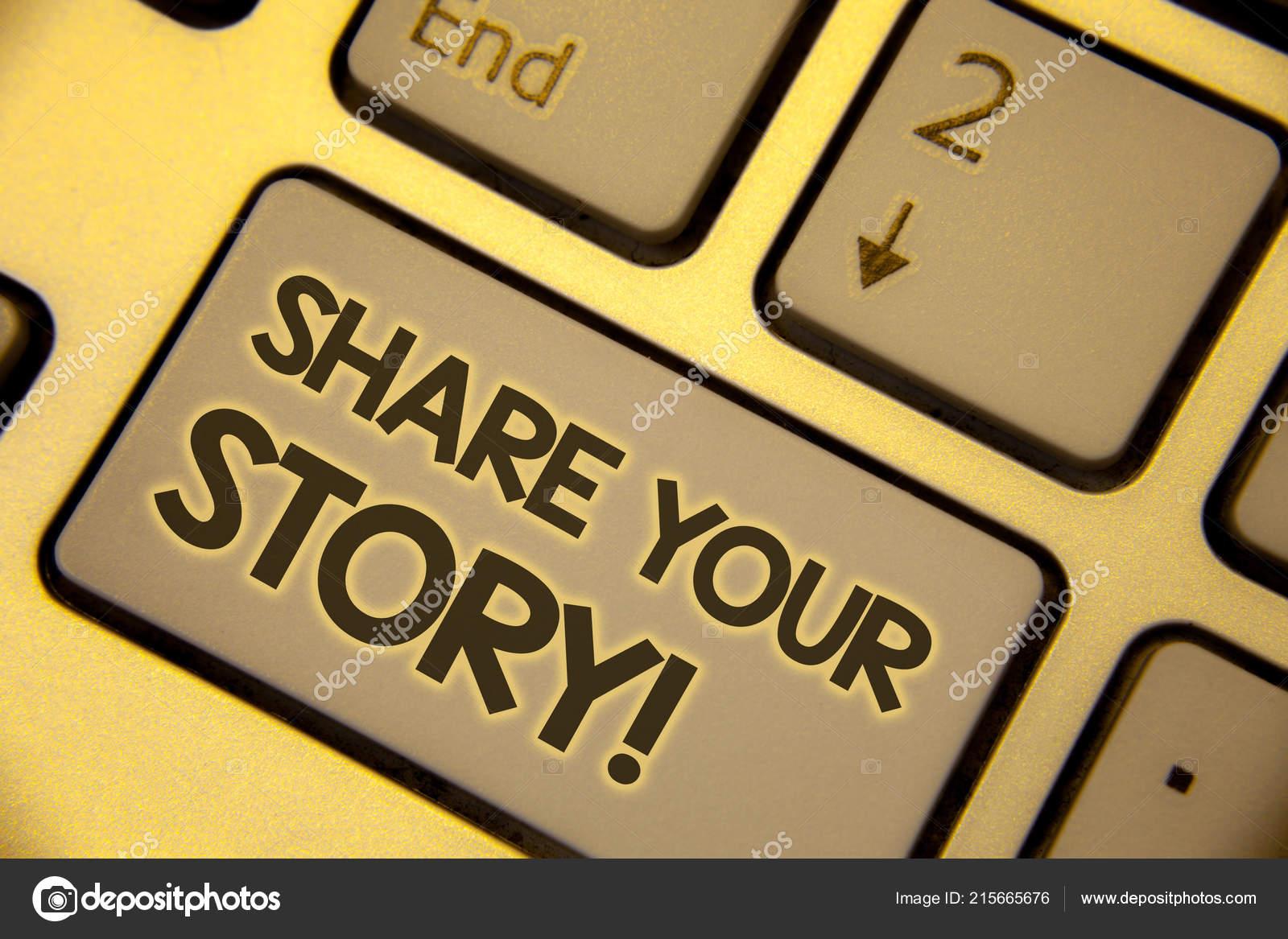 Nota De Redacción Que Compartir Su Historia Motivacional