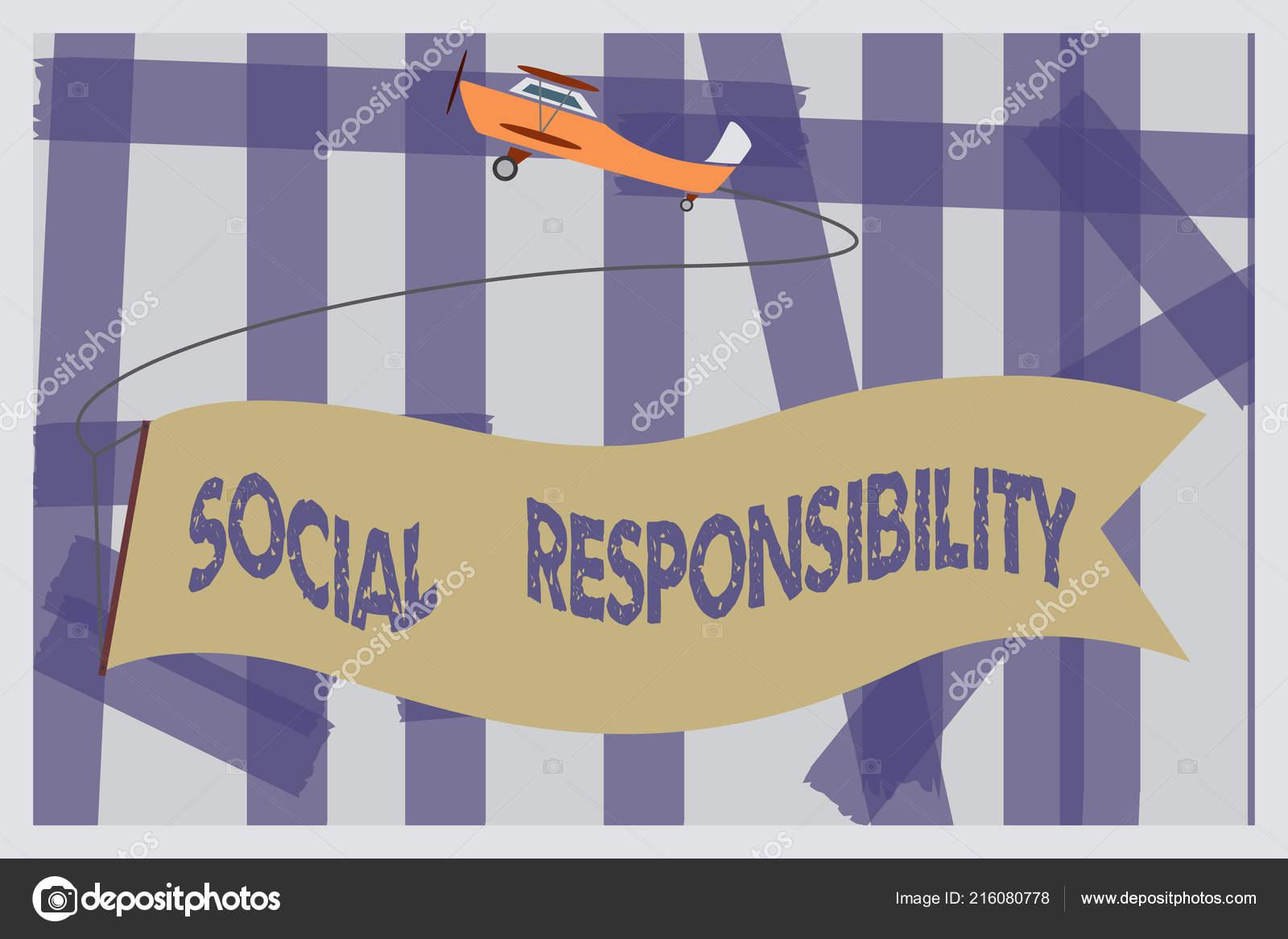 social responsibility of business towards society