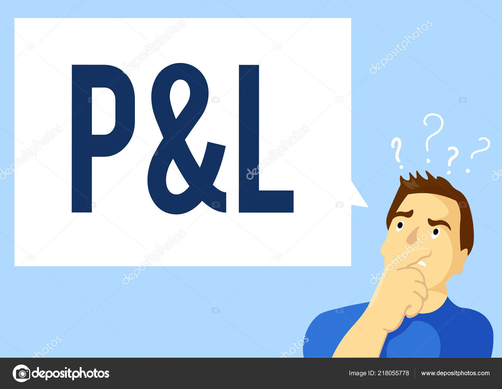 conceptual hand writing showing p and l business photo text primary