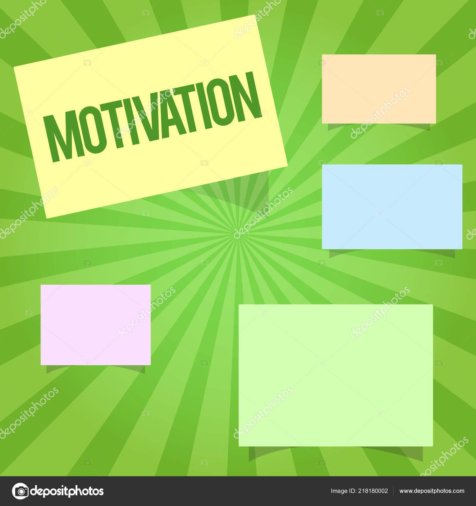 Texto De Caligrafia Escrever A Motivação Conceito Significa