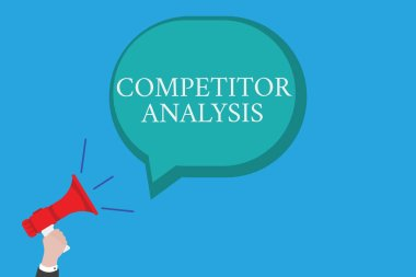 Conceptual hand writing showing Competitor Analysis. Business photo text Determine the Strength Weakness of Competitive Market.