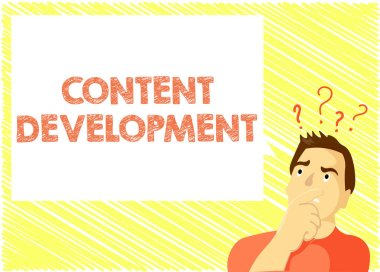 Word writing text Content Development. Business concept for Specialized in Graphic Design Multimedia Documentation