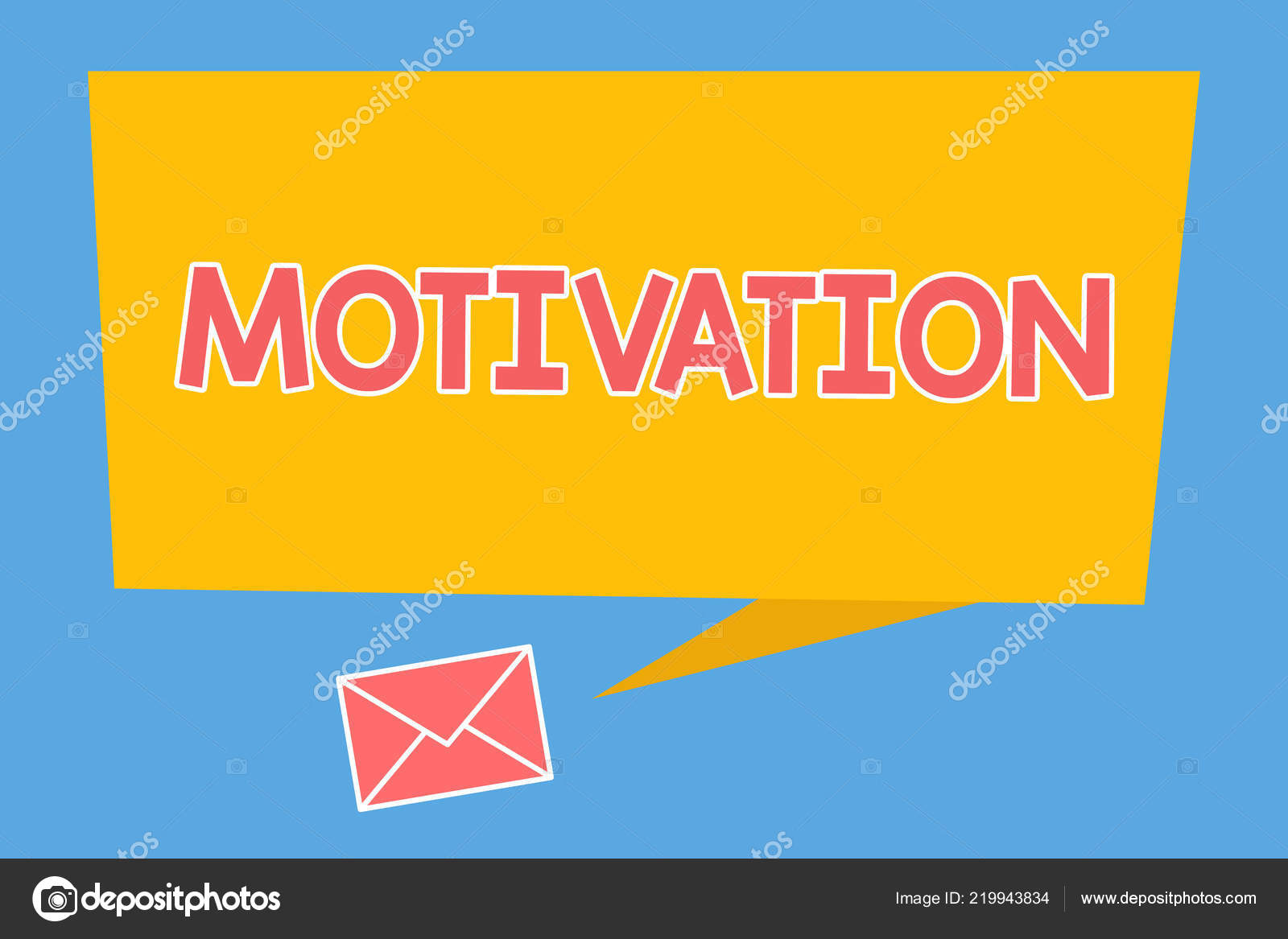 Texto Manuscrito Motivação Conceito Significa Razões Por
