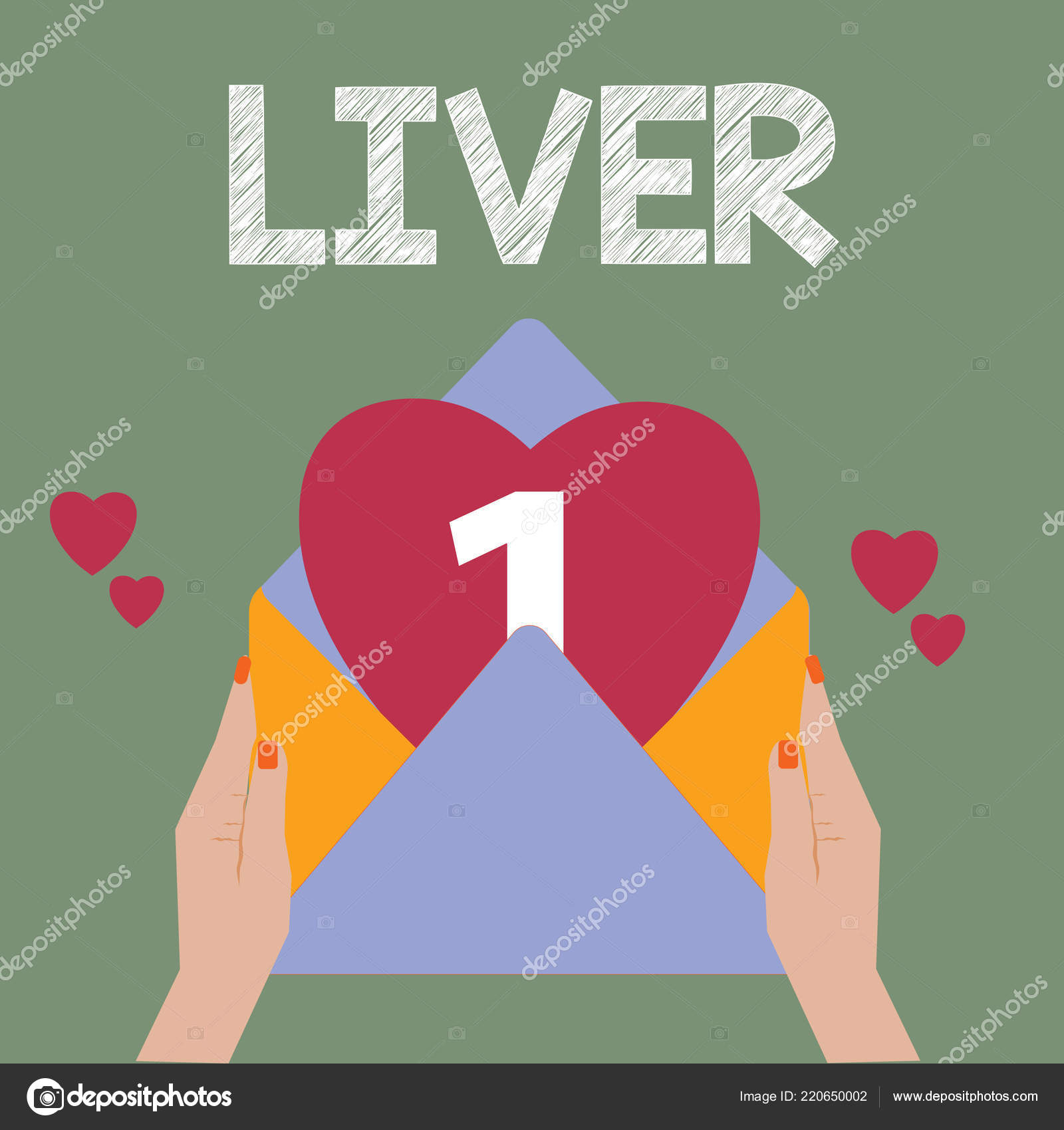 Conceptual Hand Writing Showing Liver Business Photo Text Large