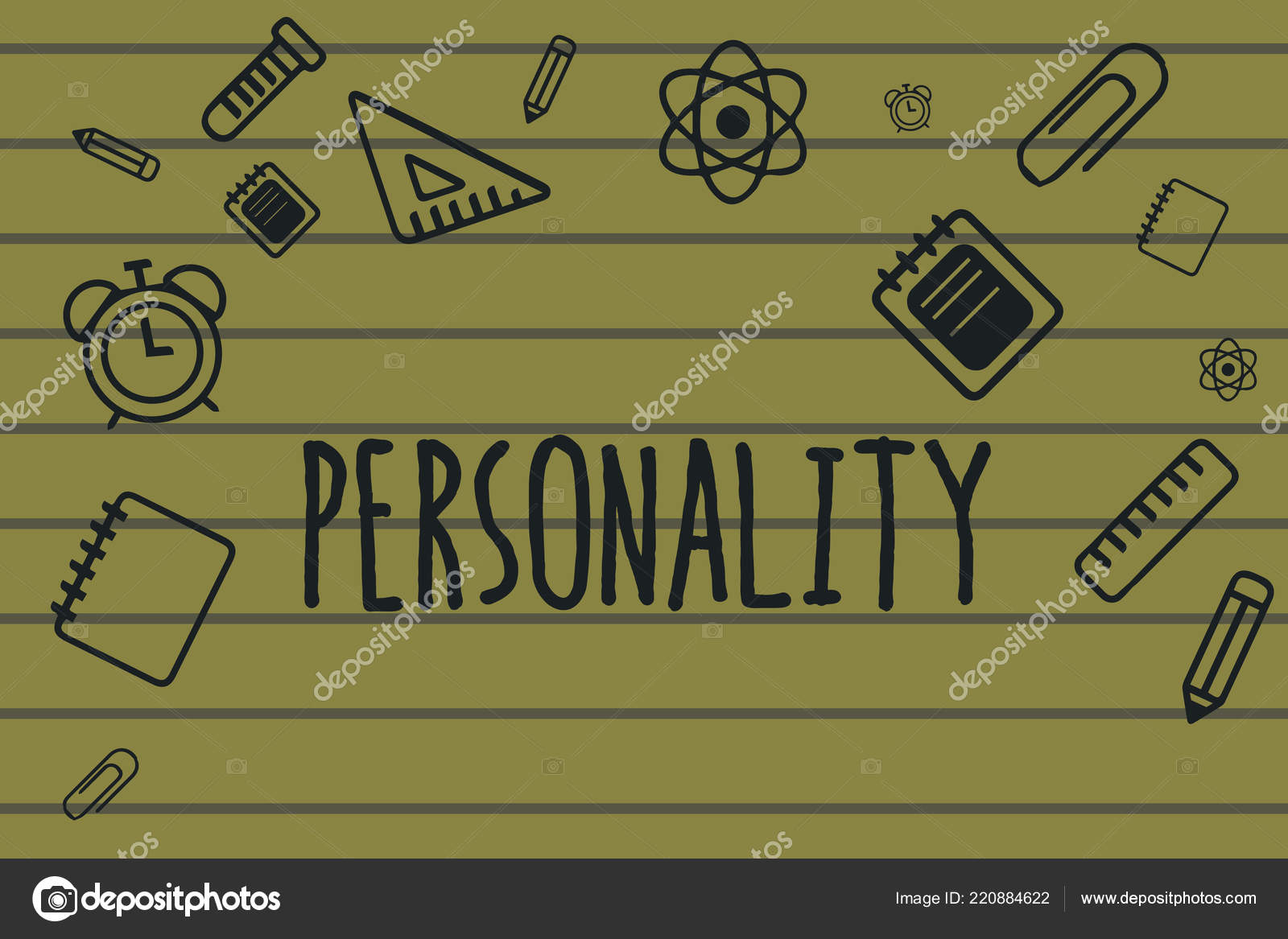 text sign showing personality conceptual photo characteristics