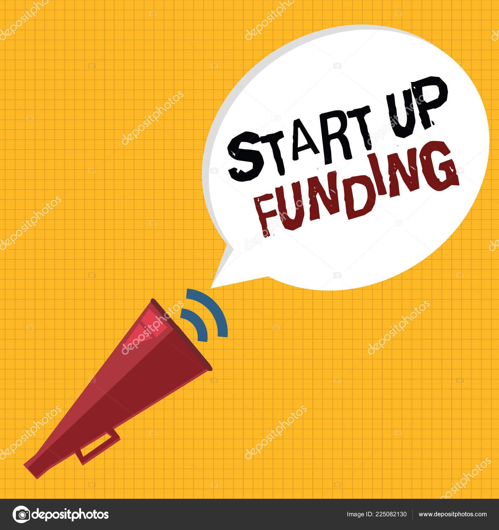 b9aaff2f452d6 Word Writing Text Start Funding Business Concept Begin Invest Money ...