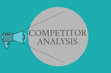 Conceptual hand writing showing Competitor Analysis. Business photo text Determine the Strength Weakness of Competitive Market