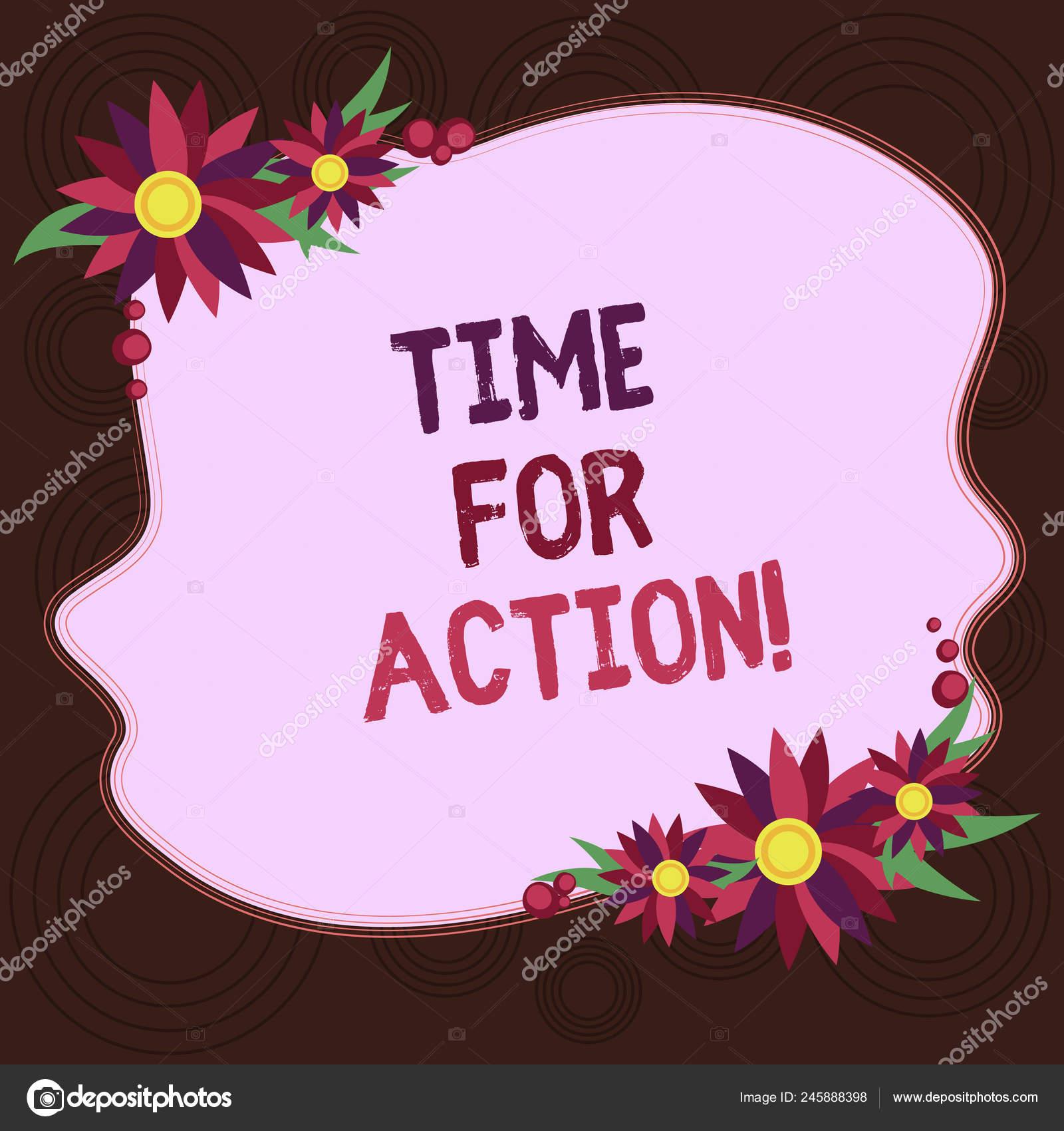Redacción De Nota Con Tiempo Para La Acción Negocio Foto