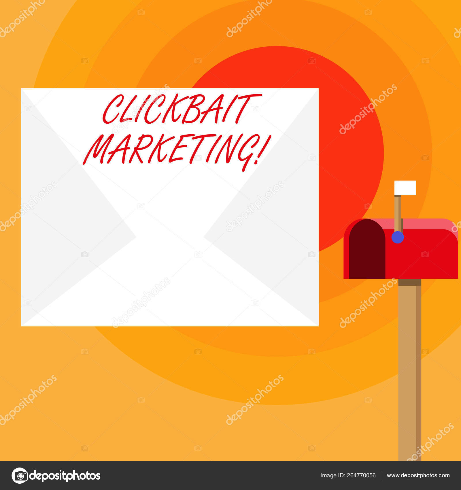Word writing text Clickbait Marketing  Business concept for