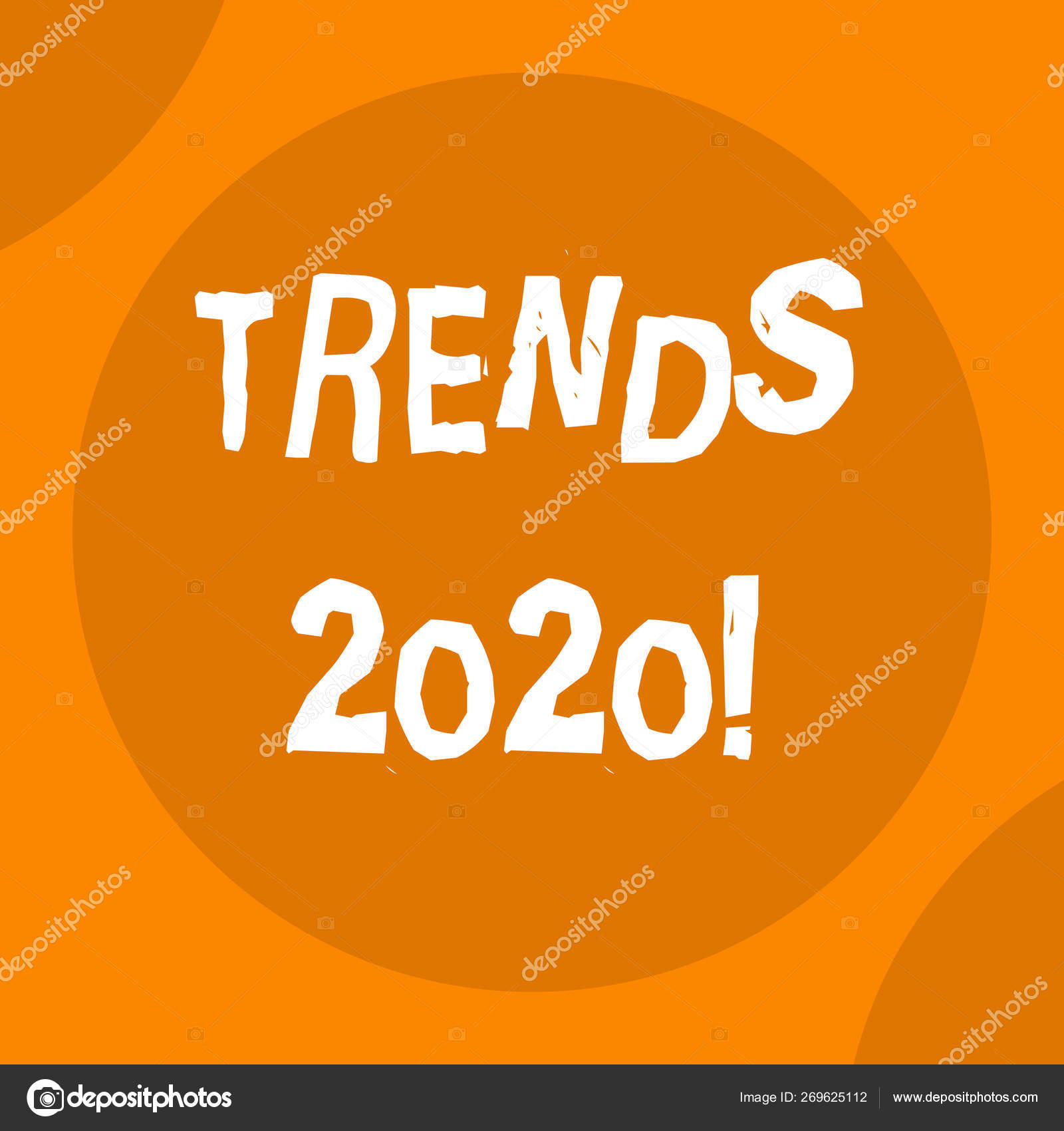Conceptual hand writing showing Trends 2020  Business photo