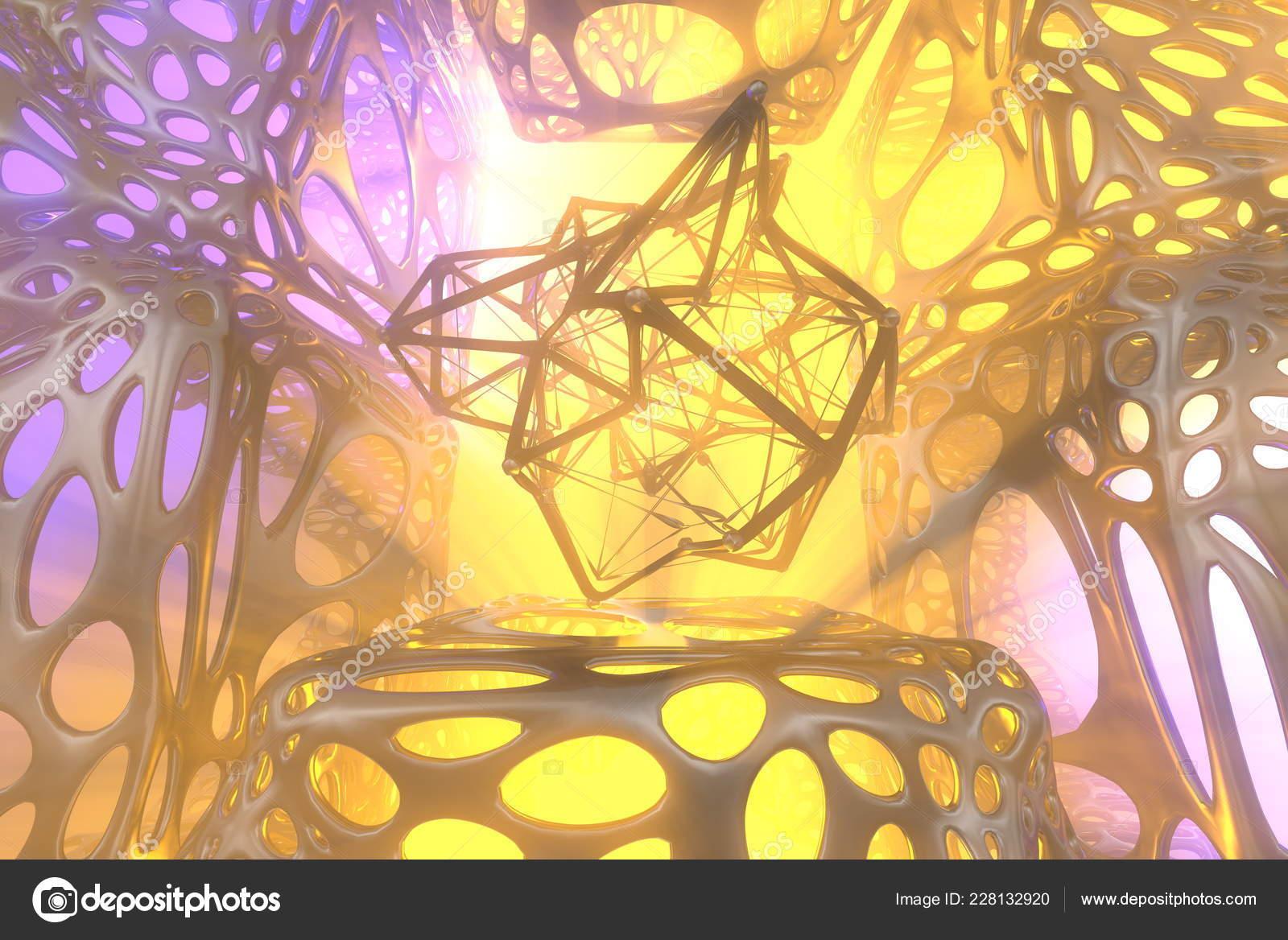 Resumen El Concepto De Representación 3d De Esfera Atómica