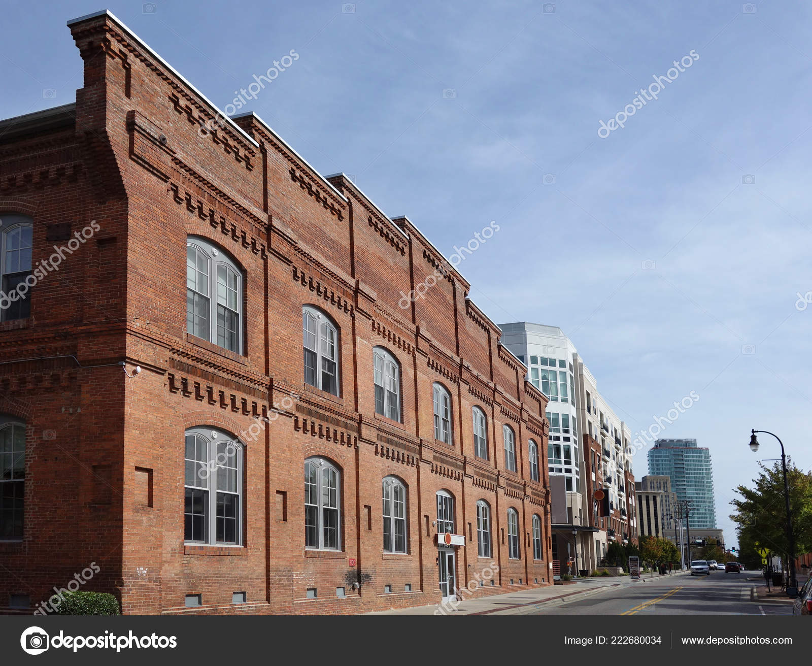 View Downtown Durham Showing Former Tobacco Warehouse Converted Loft