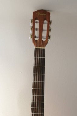 SCOTTSDALE, ARIZONA - CIRCA NOVEMBER 2015: Fender classical guitar ESC105 Educational series
