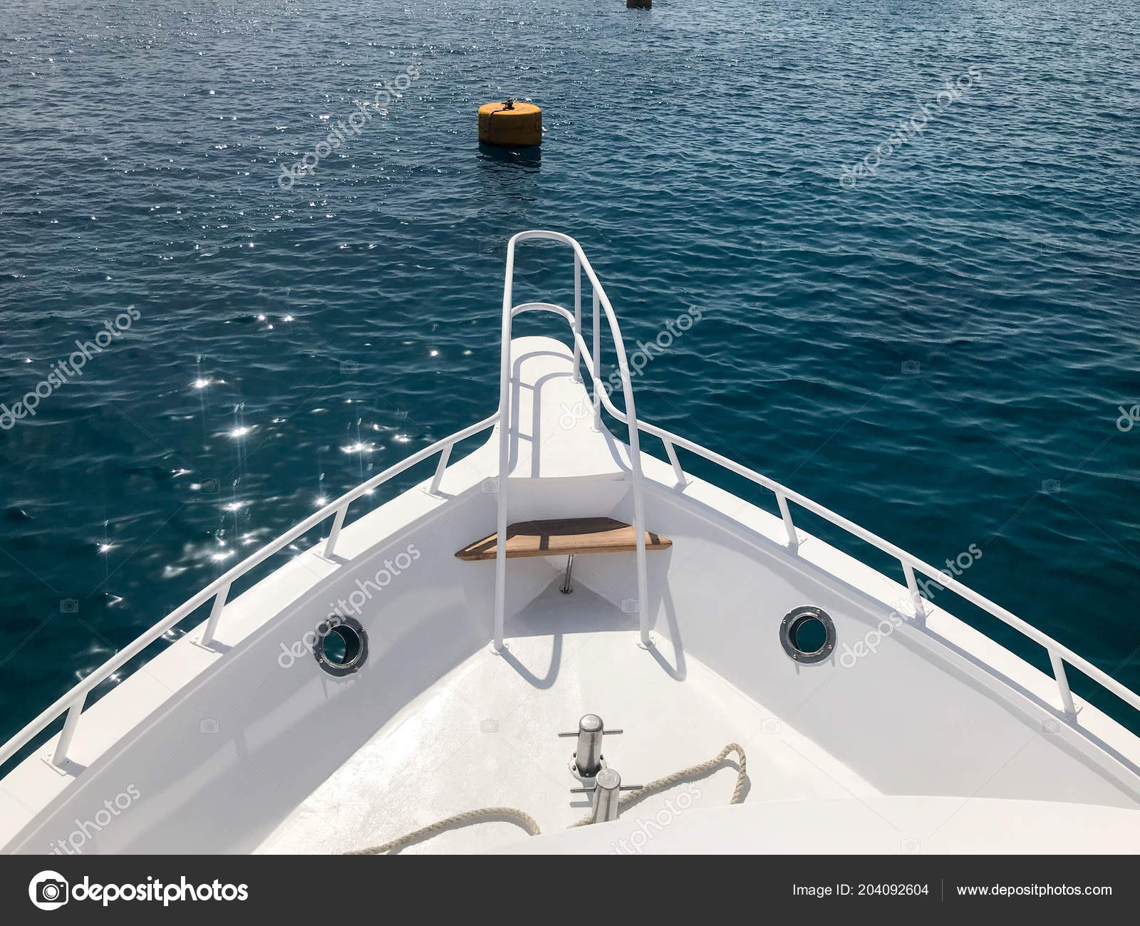 Bow Of A Boat >> Stem Front Bow Ship Boat Cruise Liner Background Buoys