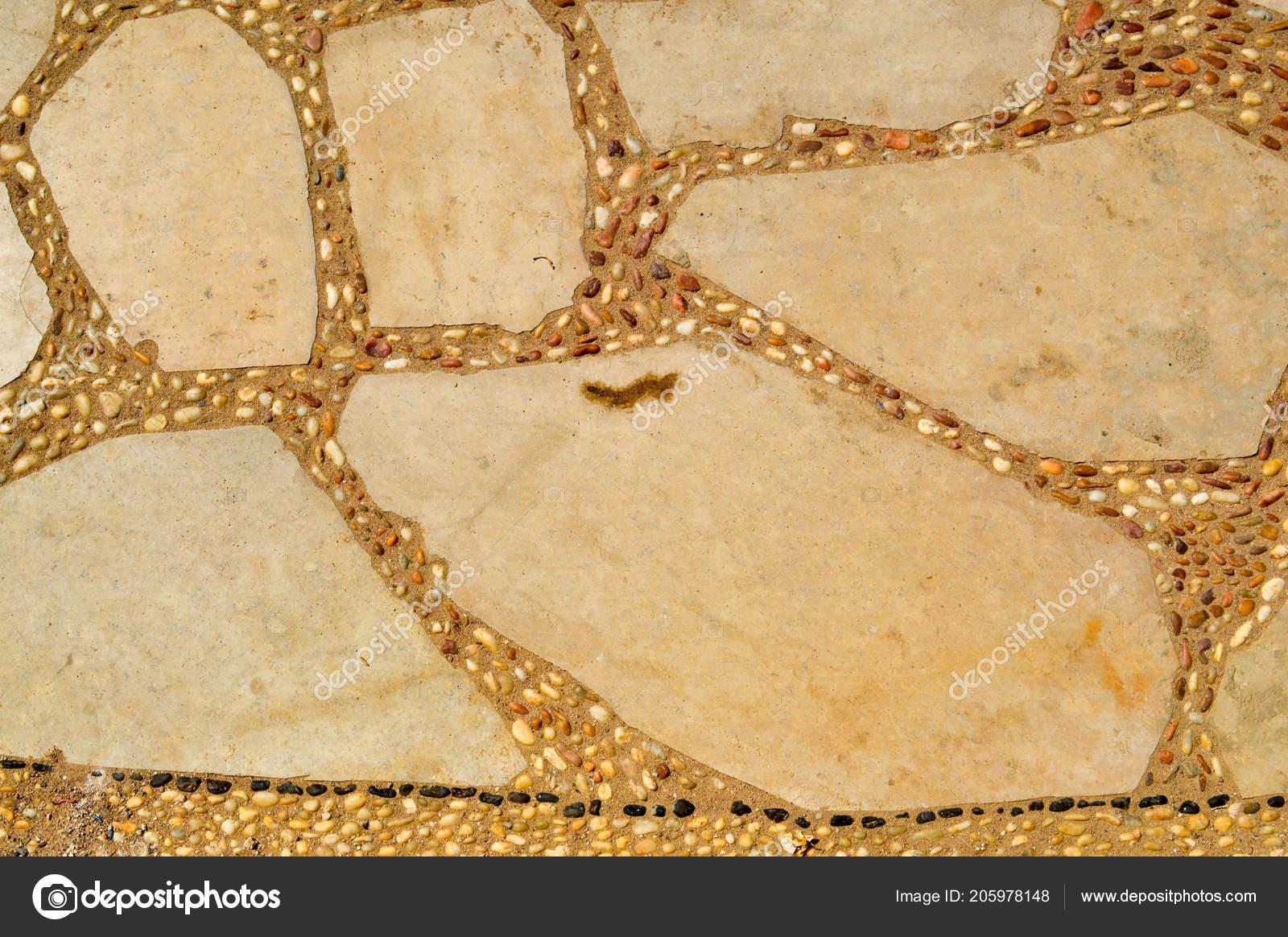 Ciottoli in porfido e calcare scelti pietra per pavimentazione di